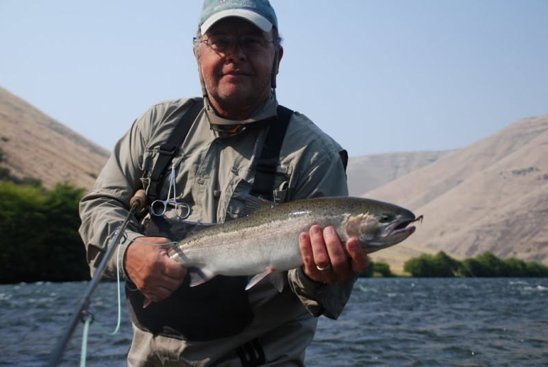 What makes a great steelhead camp all waters angling for What is steelhead fish