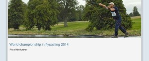 World championship in flycasting 2012 - Fly a little further
