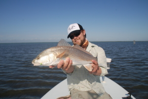 A lovely Redfish taken in the Texas sun!!
