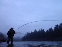 Dressed for battle!! at time we must wear modern day gore-tex armor to chase winter steelhead