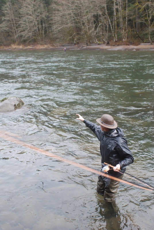 A quick winter steelhead report all waters angling for Sandy river fishing report