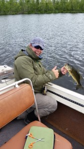 Nice Bass I caught during a Pike expedition, still fun
