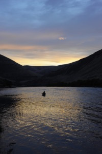 What a place to fish at first light!