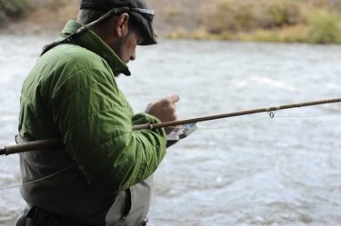 A Steelhead hardened angler chooses a new from of ammunition.
